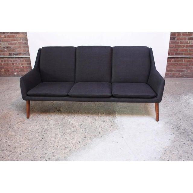 Danish Modern Sofa by Erik Ostermann and H. Høpner Petersen - Image 5 of 9