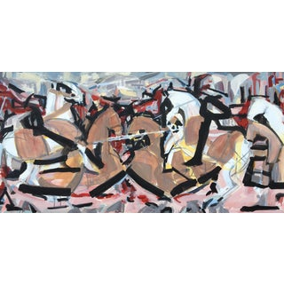 """The Battle"" Painting by Heidi Lanino"