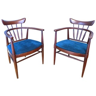 Edward Wormley for Drexel Chairs - A Pair