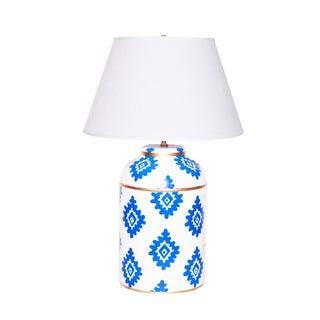 Dana Gibson Navy Block Lamp