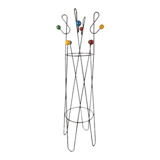 Roger Feraud French Iron Coat Stand
