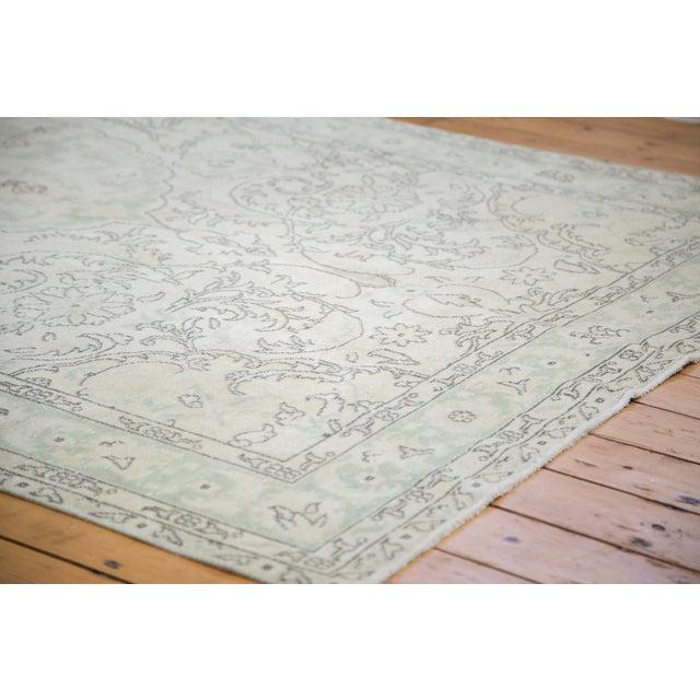 "Distressed Oushak Carpet - 6'3"" X 10' - Image 3 of 8"