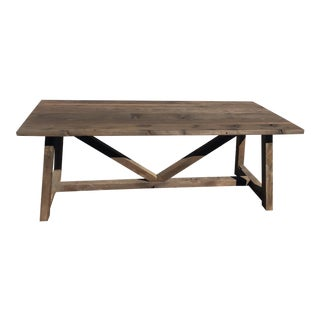 Wooden Rustic Wooden Table