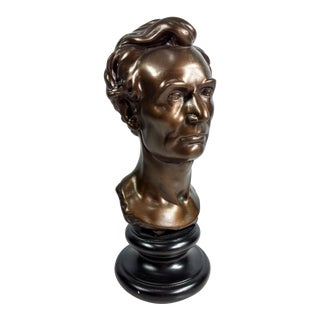 Young Abraham Lincoln Sculpture by Leonard W. Volk