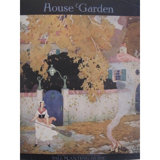 1916 House and Garden Fall Planting Guide Poster