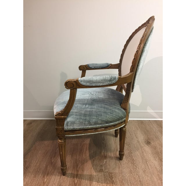 Vintage Louis XIV Fauteuil Chair - Image 4 of 5