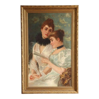 Oil on Canvas by Adolfo Belimbau