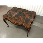 Image of Maitland-Smith Hand-Painted Inlay Coffee Table