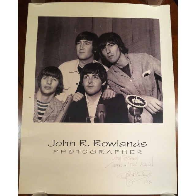 Beatles Press Conference Signed Photograph - Image 2 of 10