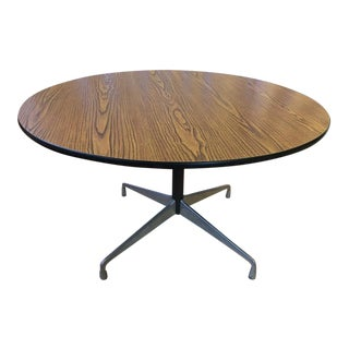 Vintage Ray and Charles Eames for Herman Miller Walnut Veneer Table