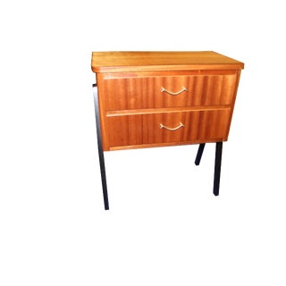 Vintage 1960s Mid-Century Danish Modern Teak Side Table