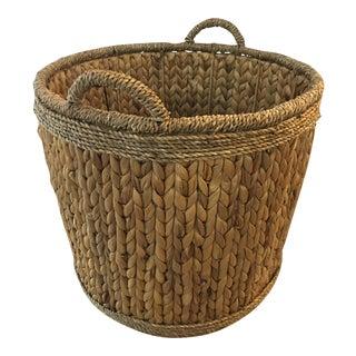Woven Hyacinth Storage Basket