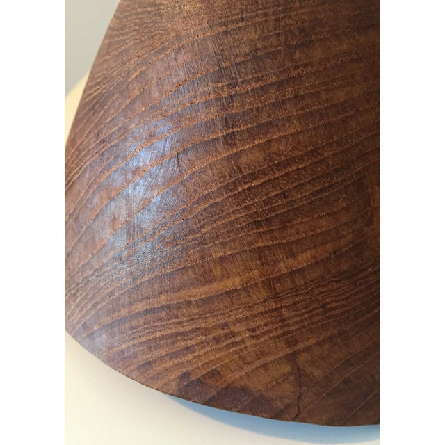 Mid-Century Carved Wooden Bowls - 2 - Image 8 of 8