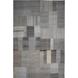 """Hand Knotted Patchwork Kilim - 13'0"""" x 9'10"""""""
