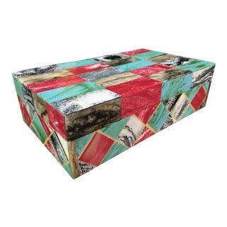 Bone Mosaic Trinket Jewelry Box