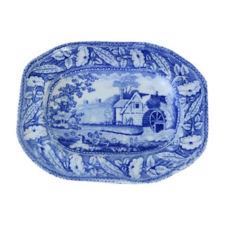 Circa 1830 Early Staffordshire Pickle Dish