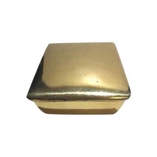 Ben Seibel Classic Lidded Brass Box