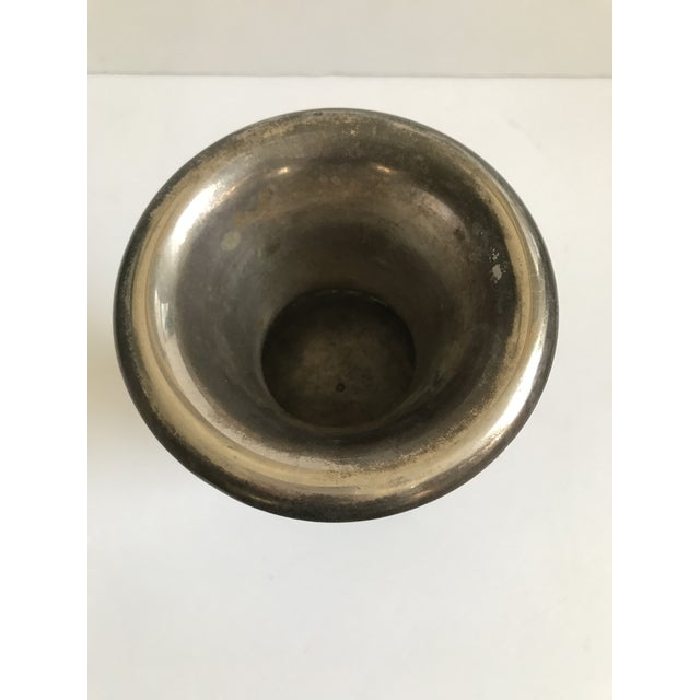 Neoclasstical Silver Plated Urn - Image 5 of 7