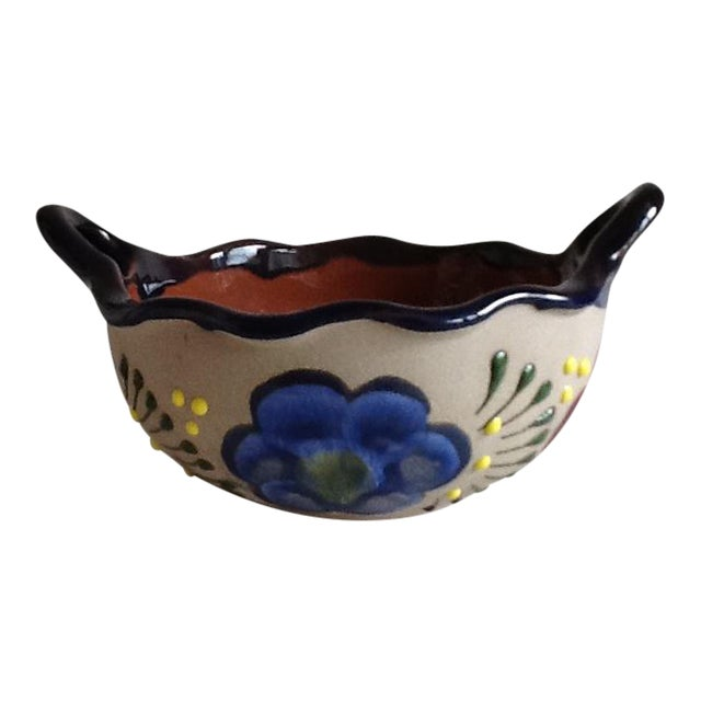 Vintage Handmade Pottery Bowl - Image 1 of 9