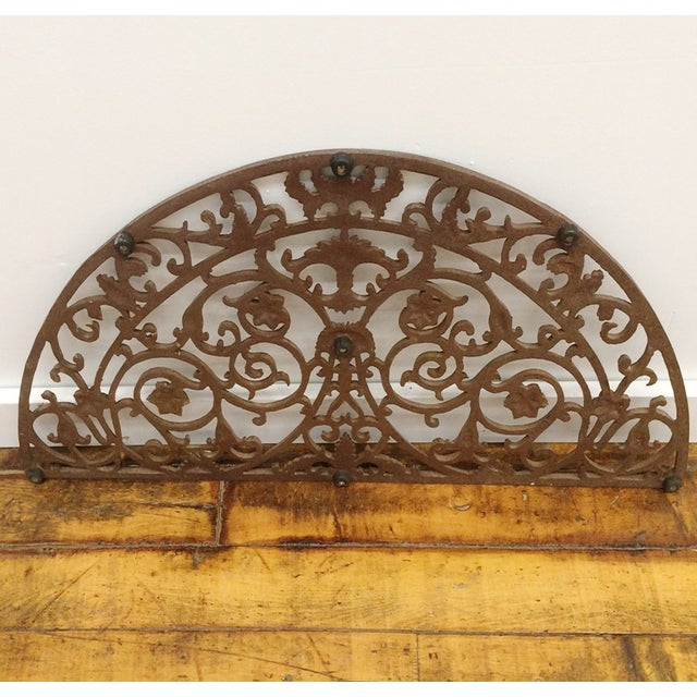 Image of Rustic Transom Iron Grille