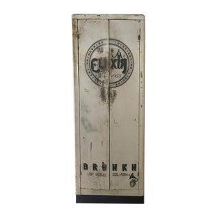 Elixir Metal Display Custom Printed Liquor Cabinet