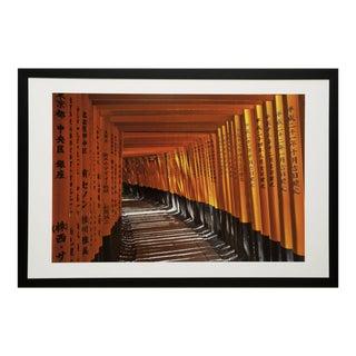 Framed Original Photograph: Shrine