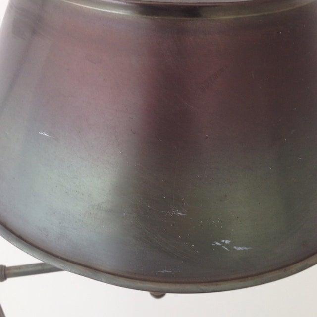 Bronze Colored Tole Floor Lamp - Image 5 of 11