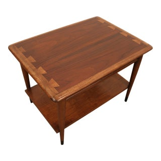 Andre Bus for Lane Mid-Century Walnut Side Table