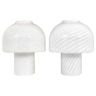 Pair of Vetri Murano Lamps, 1960s, Italy