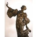 Image of A. Leonard Art Nouveau-Style Bronze