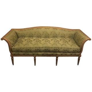 Louis XVI Style Distressed Gilt Sofa