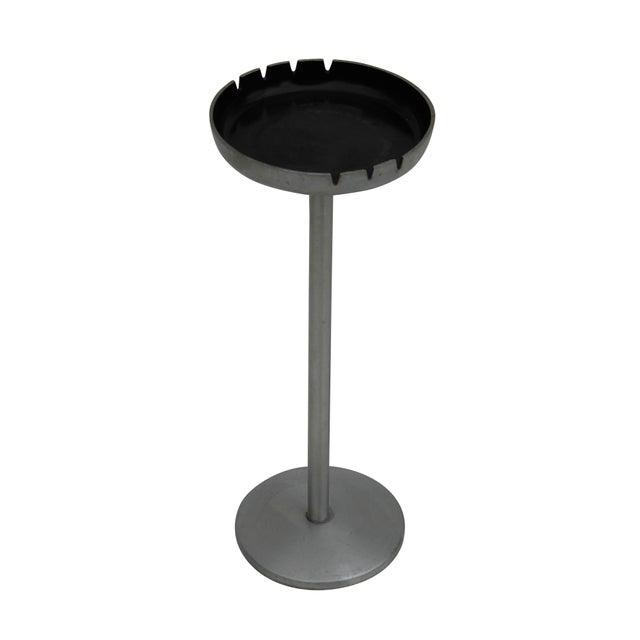 Standing Aluminum Pedestal Ashtray - Image 5 of 7