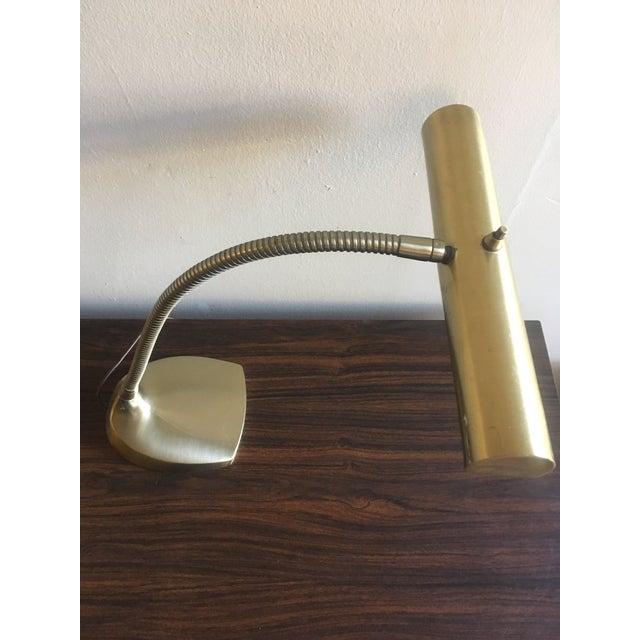 Mid-Century Brass Desk Lamp - Image 4 of 9
