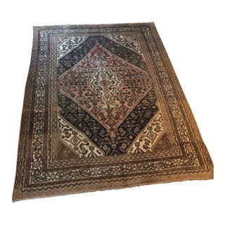 Old Persian Sarouk Rug - 7' x 9'5""