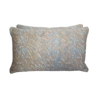 Fortuny Damask Lumbar Pillows - A Pair