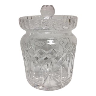 Waterford Lismore Crystal Biscuit/Candy Jar