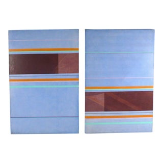 Early Ray Smith Diptych