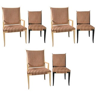 Tommi Parzinger Original Dining Chairs - Set of 6