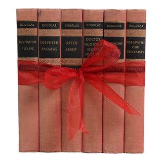 Vintage Book Gift Set: 1930's Blush Novels - Set of 6