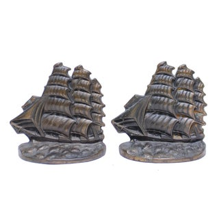 Flying Cloud Schooner Bookends - Pair
