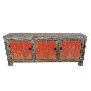 Antique Distressed Gansu Sideboard