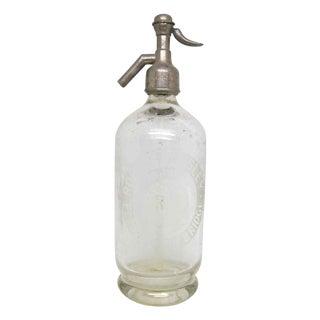 Vintage Rm Seltzer Glass Bottle