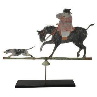 19th Century English Tin Weathervane