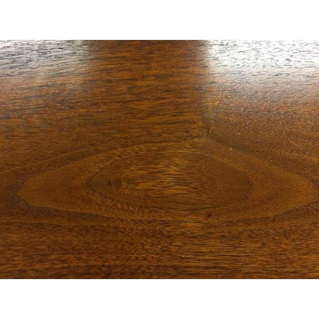 Walnut Mid-Century Danish Modern Dining Table - Image 3 of 7