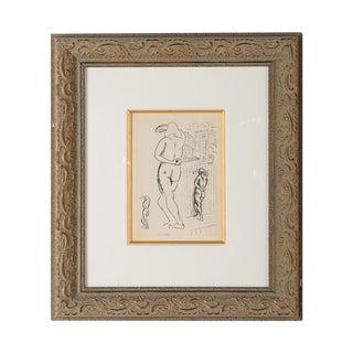"Matisse ""Planche 2"" Portrait of a Woman Lithograph"