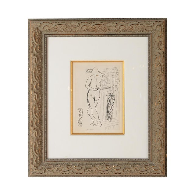 "Matisse ""Planche 2"" Portrait of a Woman Lithograph - Image 1 of 10"