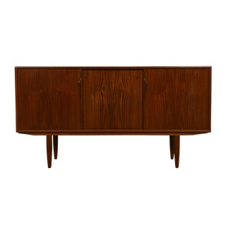 Mid-Sized Gunni Omann Danish Modern Sideboard / Media Cabinet in Teak