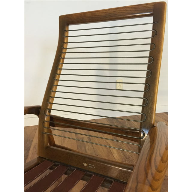 Mid-Century Adjustable High Back Lounge Chair - Image 9 of 11