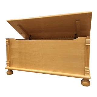 Maple Wood Storage Chest