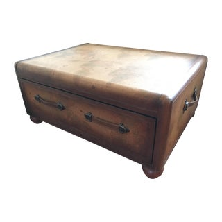 Maitland-Smith World Map Trunk Tables